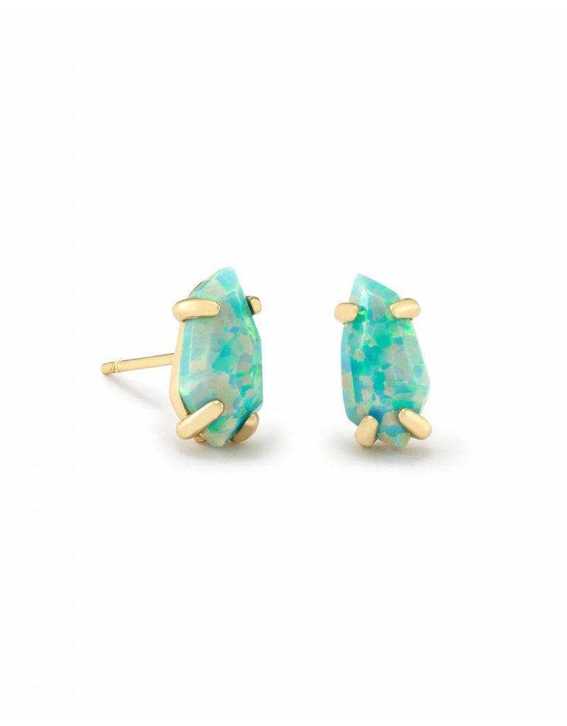 Kendra Scott Kendra Scott Jillian Stud Earrings in Aqua Opal