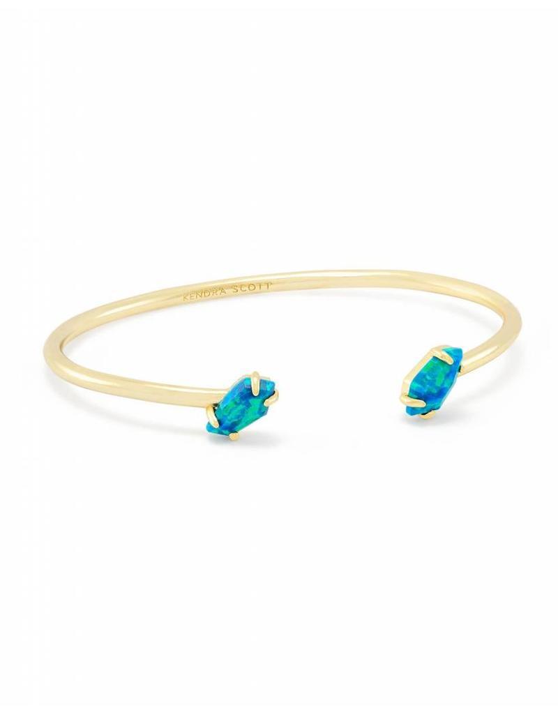 Kendra Scott Kendra Scott Jackson Gold Bracelet in Marine Opal