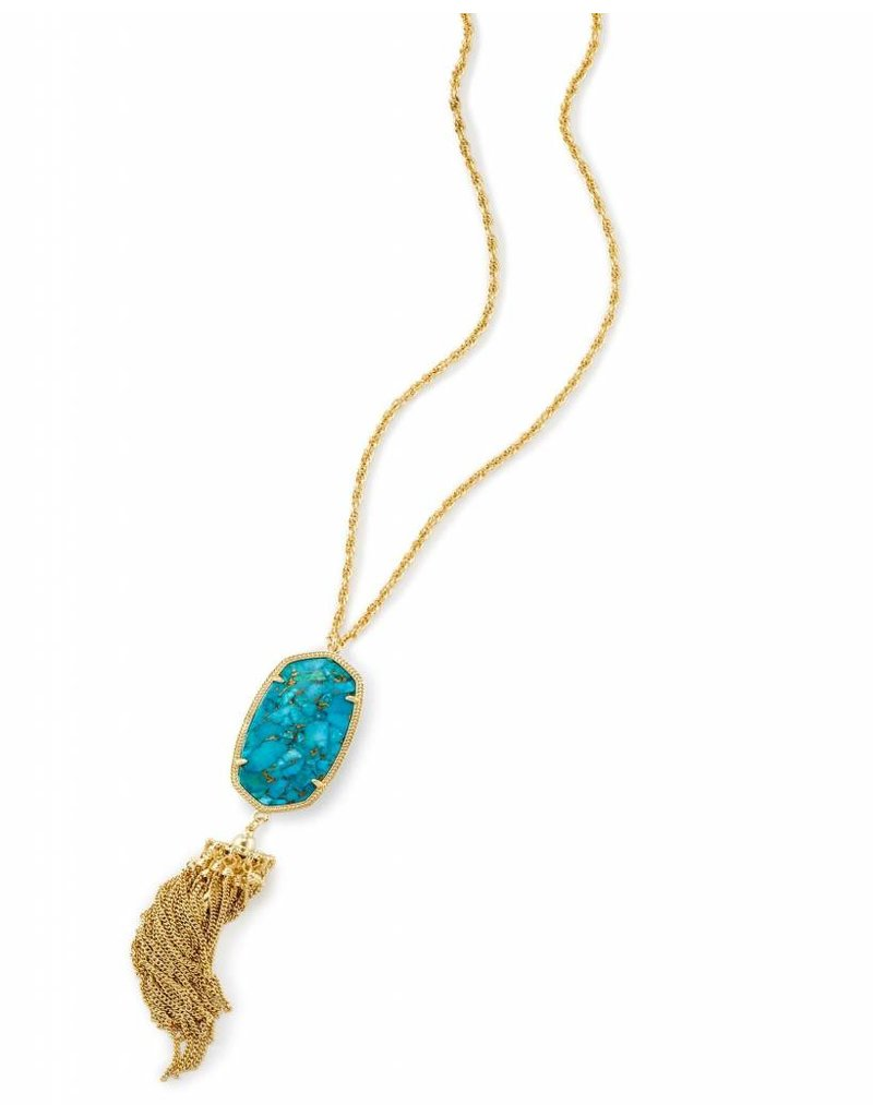 Kendra Scott Kendra Scott Rayne Necklace in Bronze Veined Turquoise