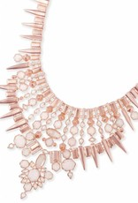 Kendra Scott Kendra Scott Seraphina Statement Necklace in Rose Gold Champagne