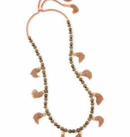 Kendra Scott Kendra Scott Vanina Long Necklace in Pyrite