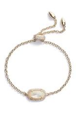 Kendra Scott Kendra Scott Bridal Elaina Bracelet in Ivory Mother of Pearl on Gold