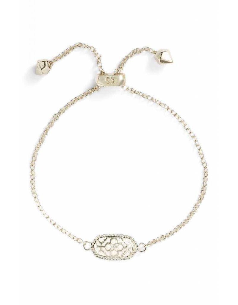 Kendra Scott Kendra Scott Elaina Adjustable Bracelet in Gold Filigree