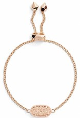 Kendra Scott Kendra Scott Elaina Adjustable Bracelet in Rose Gold Filigree