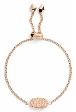 Kendra Scott Kendra Scott Elaina Adjustable Bracelet in Rose Gold Filigree