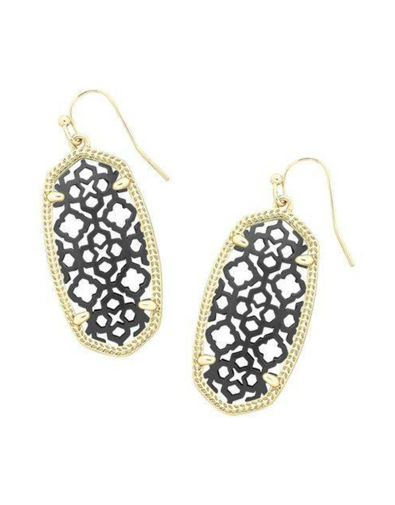erc earrings amrita black shop friday rainbow gunmetal jewelry product singh
