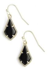 Kendra Scott Kendra Scott Lexi Drop Earrings in Black