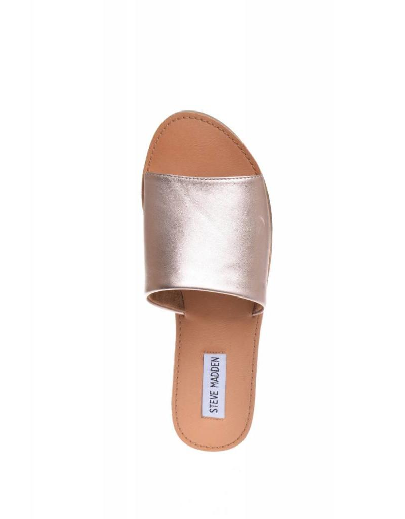 Steve Madden Grace Rose Gold Slides