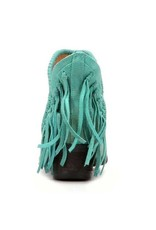 Corral Turquoise Fringe Shortie- Q0005