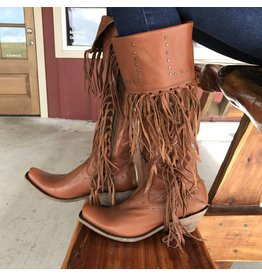 Caborca Tall Fringe Boots