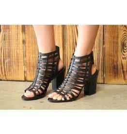 Sbicca Sbicca Leilani Heeled Sandal in Black