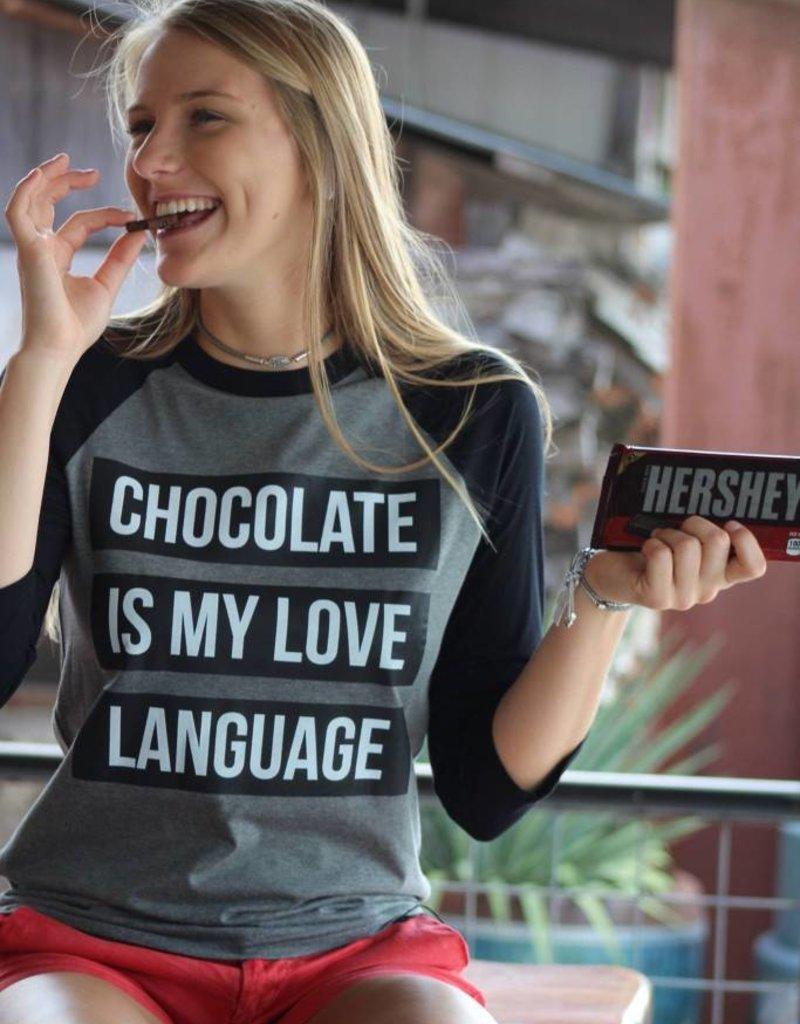 Love Language Raglan