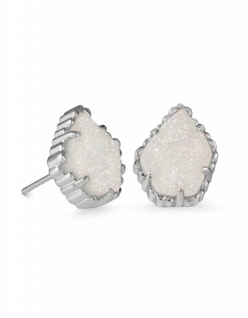 Kendra Scott Kendra Scott Tessa Studs in Iridescent Drusy on Silver