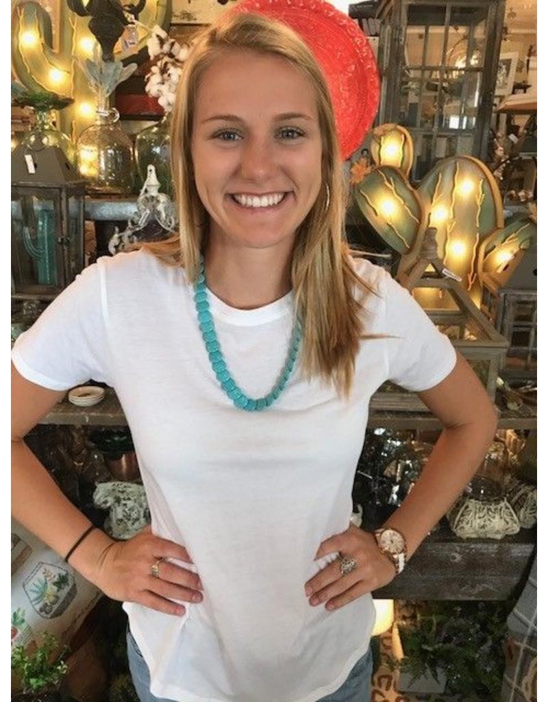 Turquoise Necklace/Headband