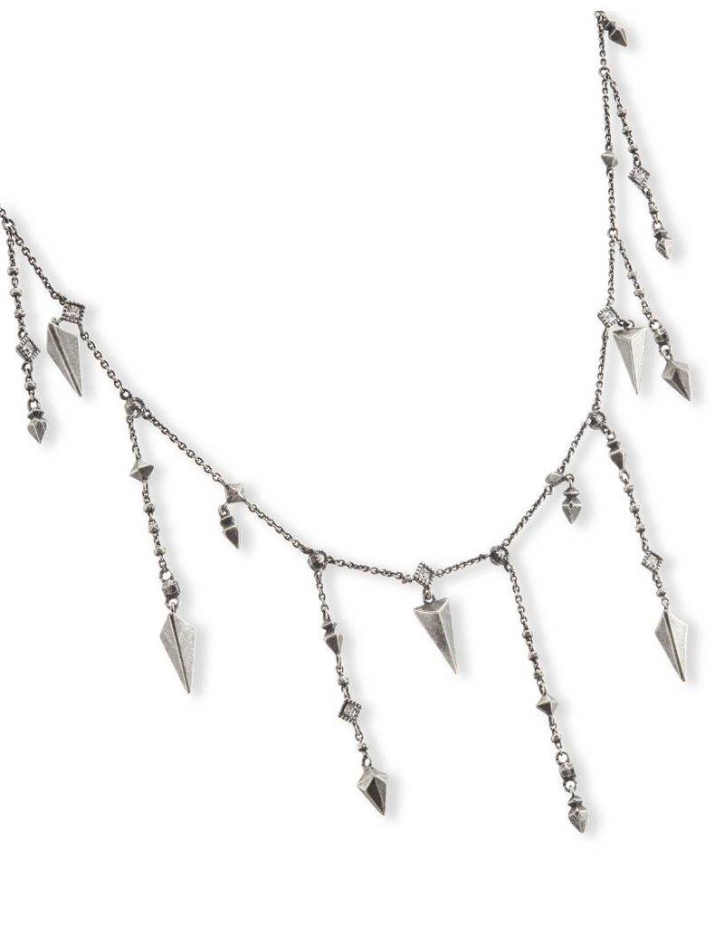 Kendra Scott Loralei Necklace in Antique Silver