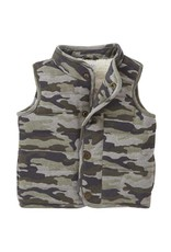 Camo Quilted Vest