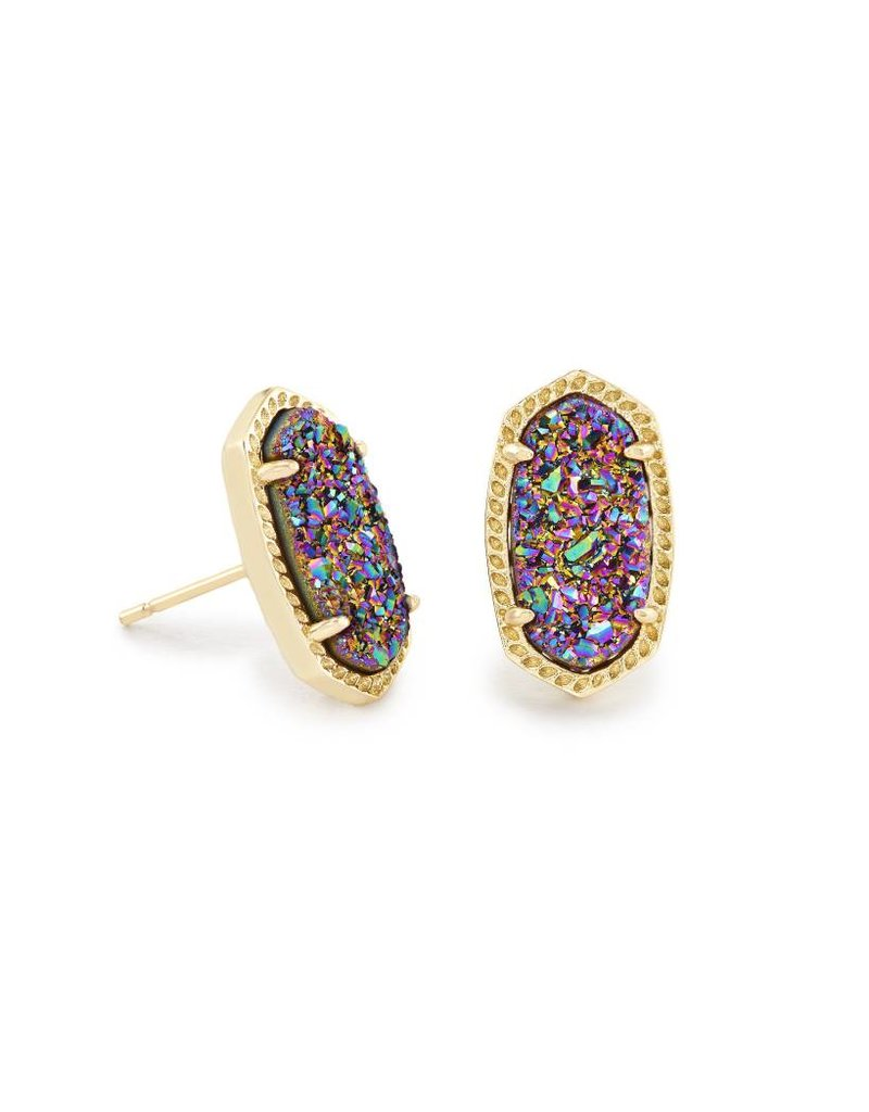 Kendra Scott Kendra Scott Ellie Earrings Multi Drusy on Gold