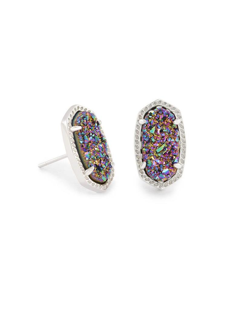 Kendra Scott Kendra Scott Ellie Earrings Multi Drusy on Silver