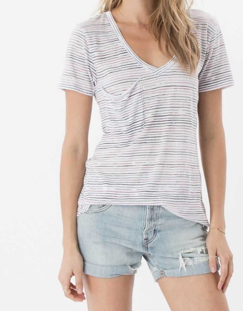 Z Supply Z Supply Striped Pocket Tee