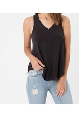Z Supply Suede Tank Black