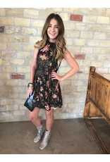 Free People Free People She Moves Floral Slip Dress