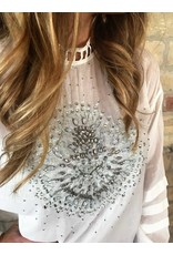 Free People Heart of Gold Blouse in Ivory