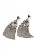 Kendra Scott Kendra Scott Ana Earrings in Antique Silver