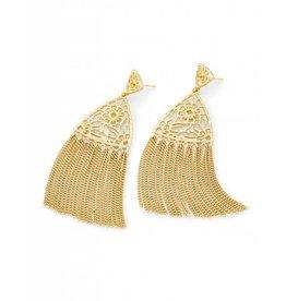 Kendra Scott Ana Earrings in Gold