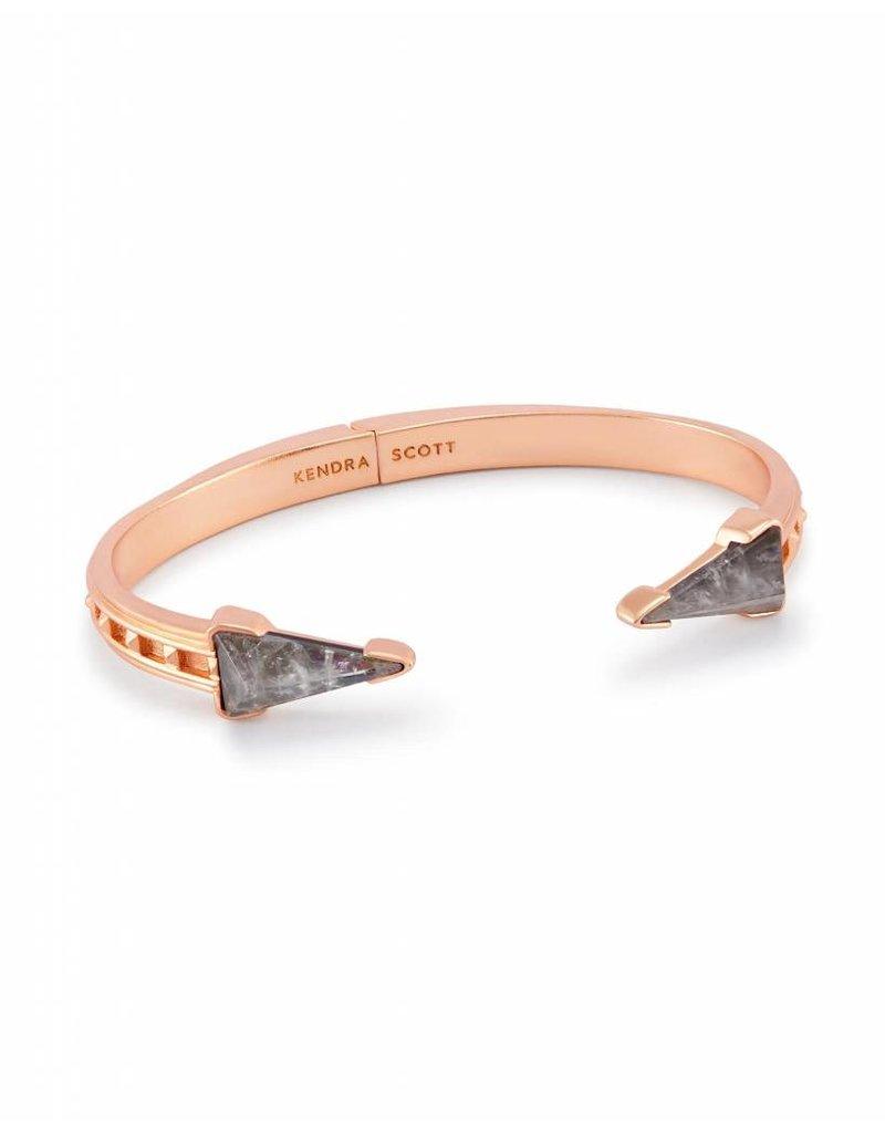 Kendra Scott Kendra Scott Misty Rose Gold Bracelet in Crystal Gray Illusion