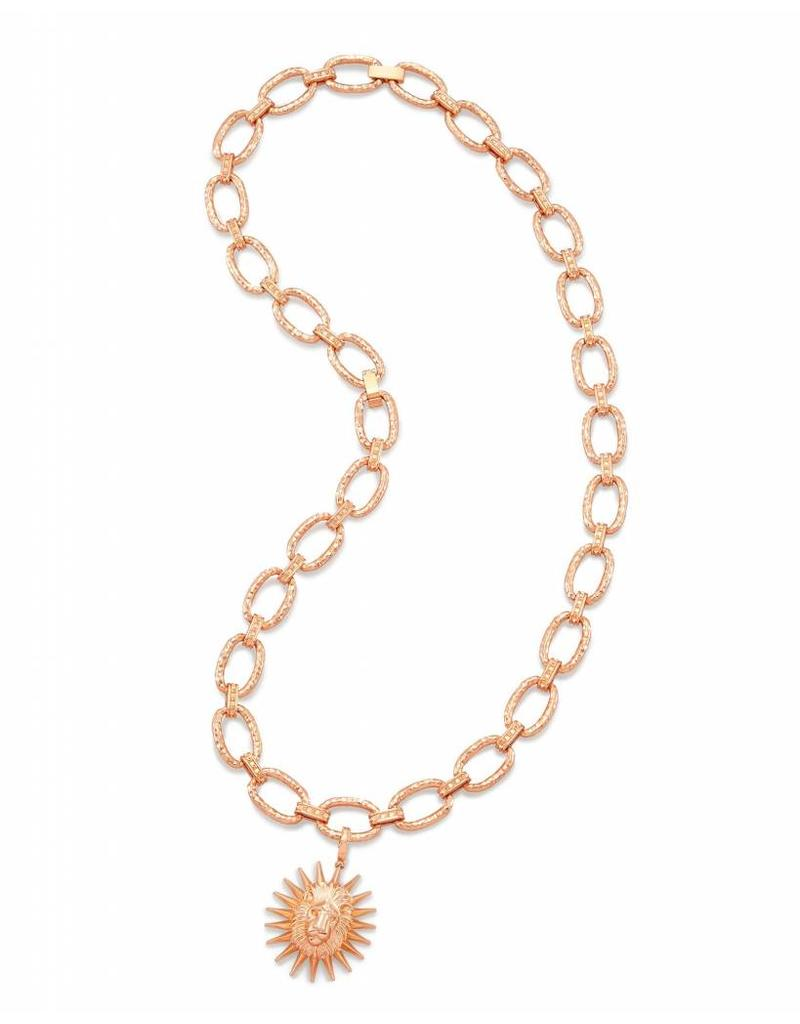 Kendra Scott Athena Necklace in Rose Gold