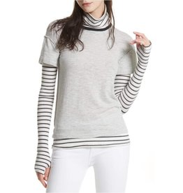 Free People Free People Piper Twofer in Heather Grey