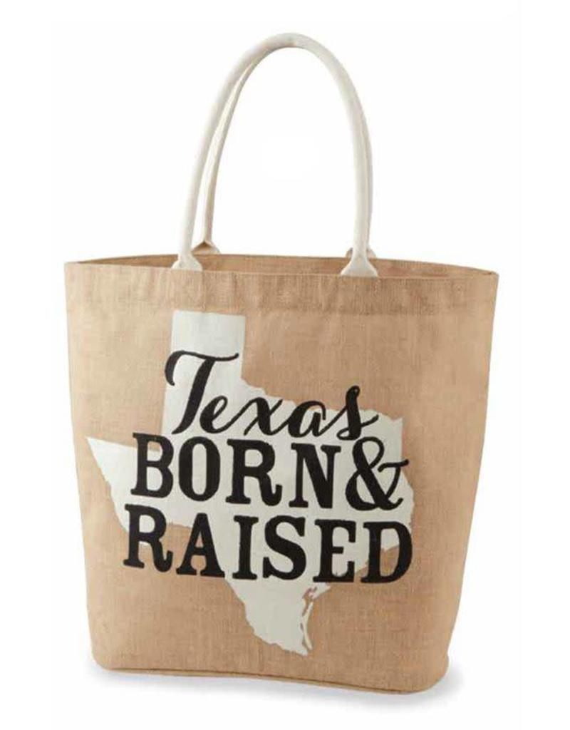 Texas Born & Raised Tote