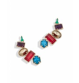 Kendra Scott Kendra Scott Frankie Earrings in Jewel Tone Mix