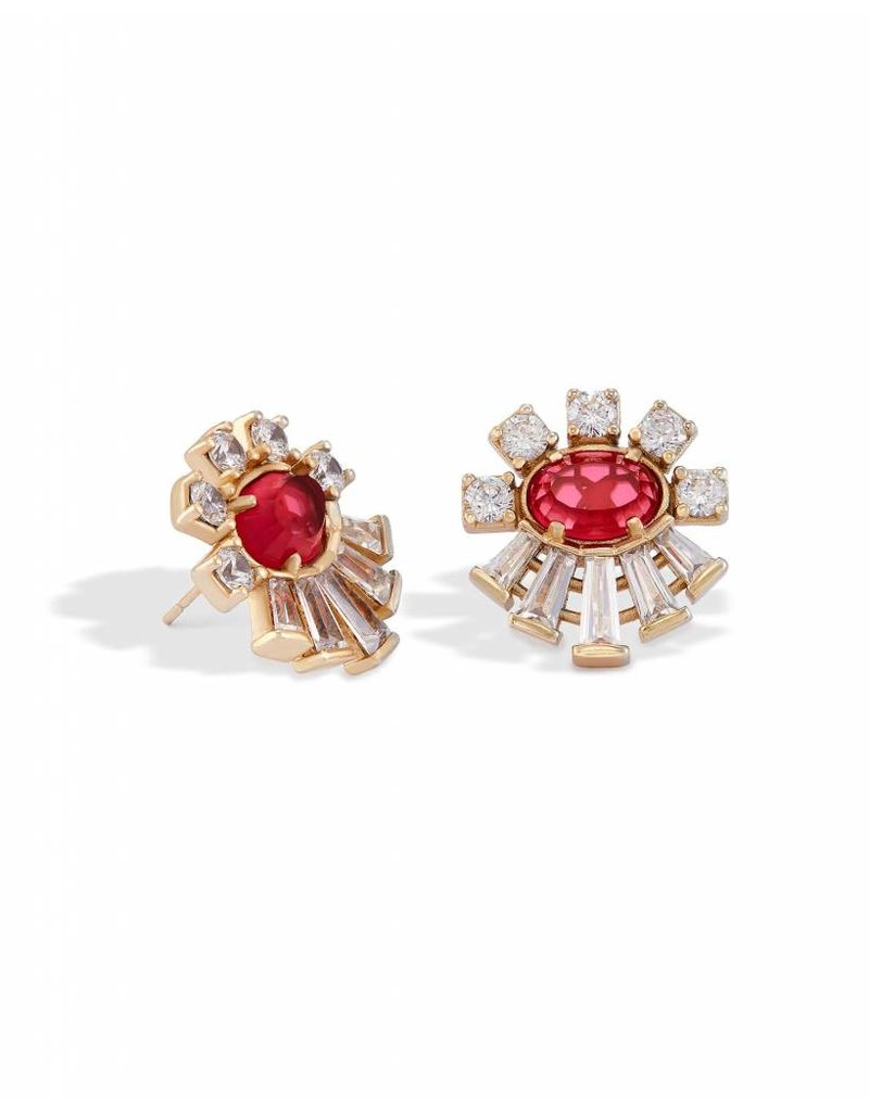 Kendra Scott Kendra Scott Atticus Earrings in Clear Berry