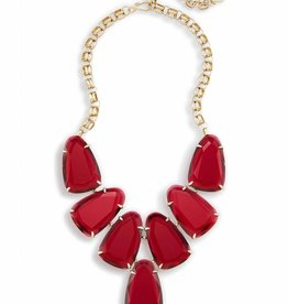 Kendra Scott Harlow Necklace in Clear Berry