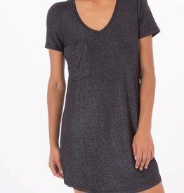 Z Supply Shimmer Dress Black