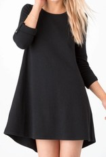 ZSupply D/Knit Symphony Dress Black