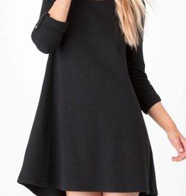 ZSupply D/Knit Symphony Dress Black