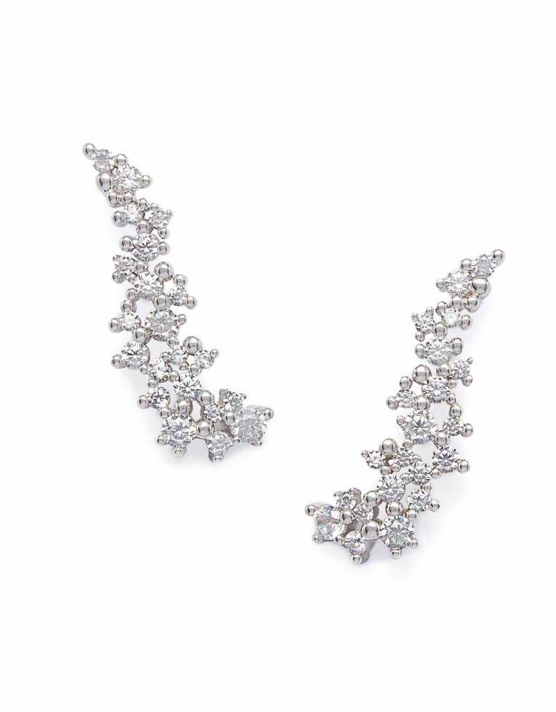 Kendra Scott Kendra Scott Petunia Earrings in Silver