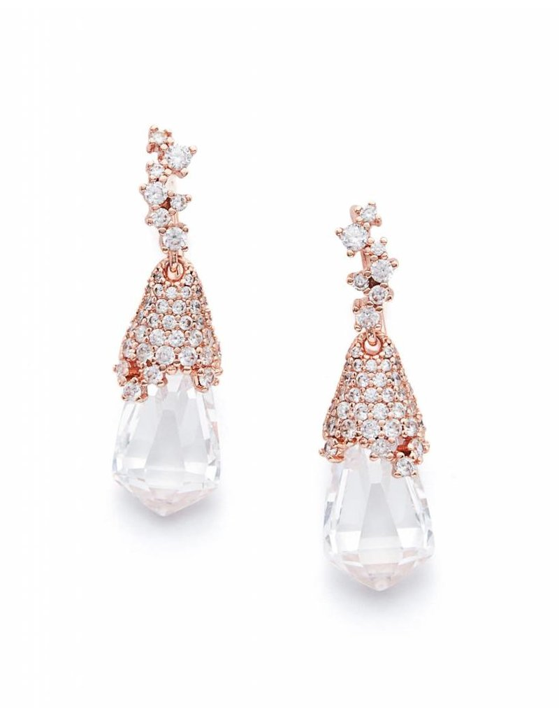 Kendra Scott Becky Earrings in Rose Gold