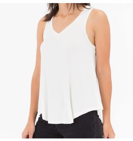 Z Supply Shimmer Swing Tank Pearl