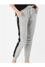 Z Supply Z Supply Athleisure Jogger Pant in Heathered Grey/ Black