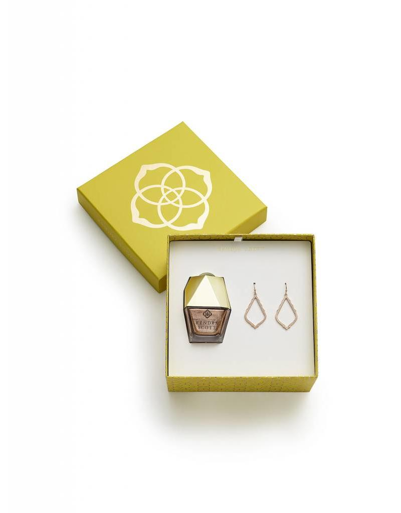 Kendra Scott Sophia Gift Set in Rose Gold