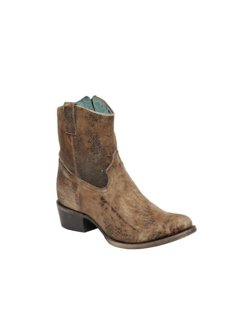 Corral Corral Chocolate Lamb Short Top Boots- C1064