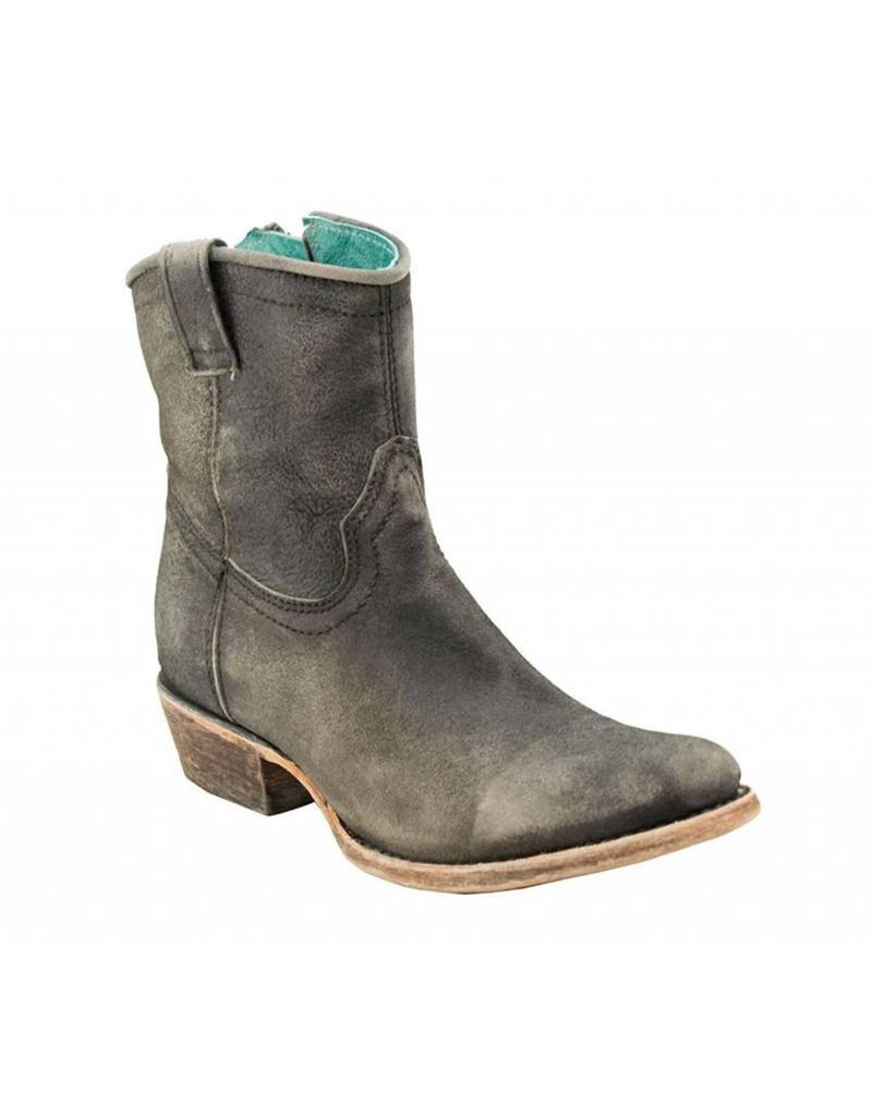 Corral Corral Grey Lamb Short Top Boots- C3089