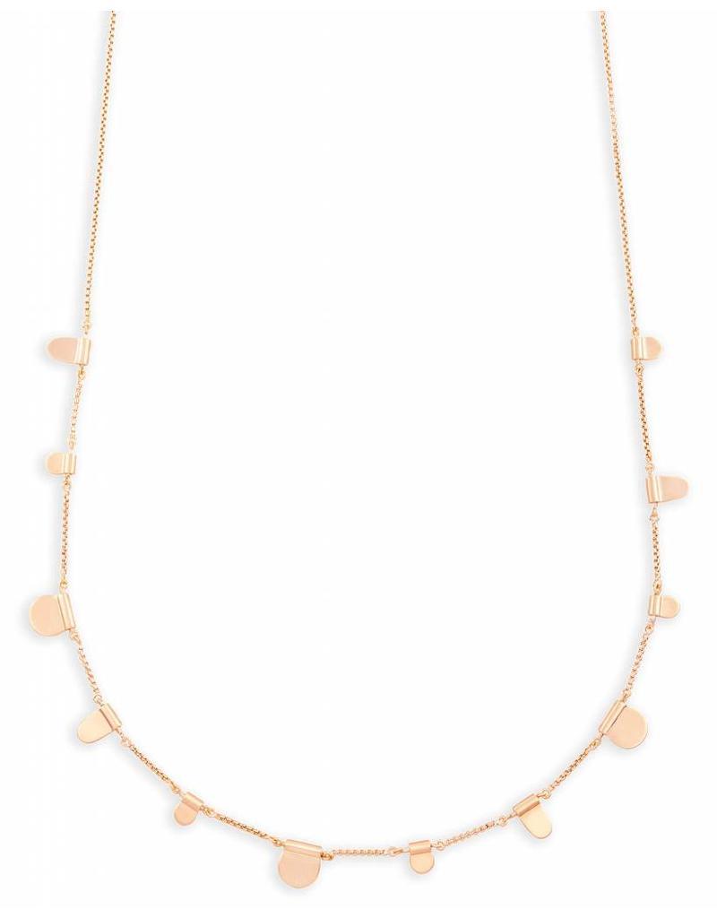 Kendra Scott Kendra Scott Olive Necklace in Rose Gold