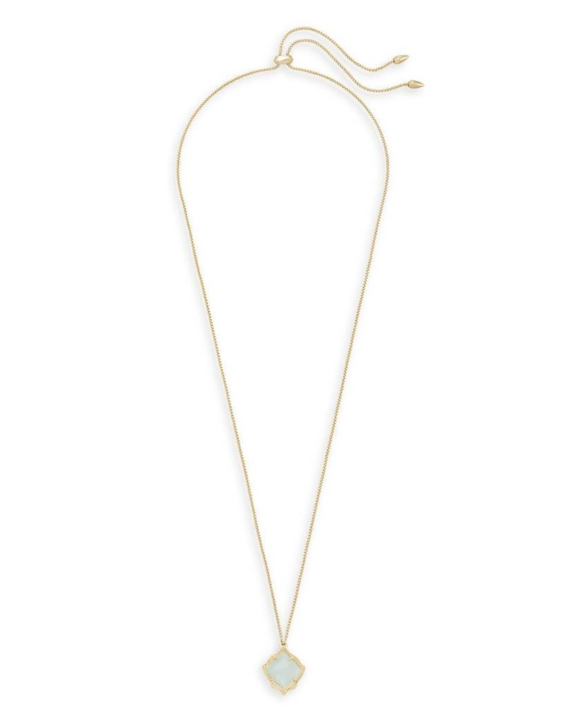Kendra Scott Kendra Scott Kacey Pendant Necklace in Chalcedony