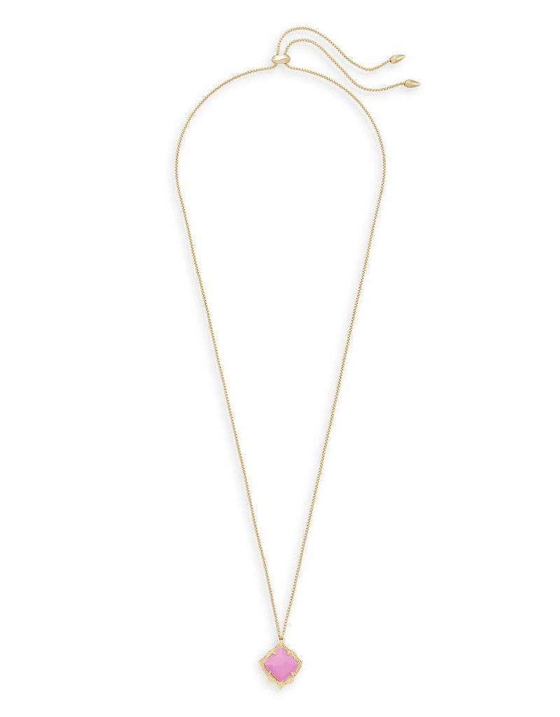 Kendra Scott Kendra Scott Kacey Pendant Necklace in Magenta