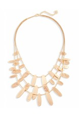 Kendra Scott Kendra Scott Nettie Necklace in Rose Gold