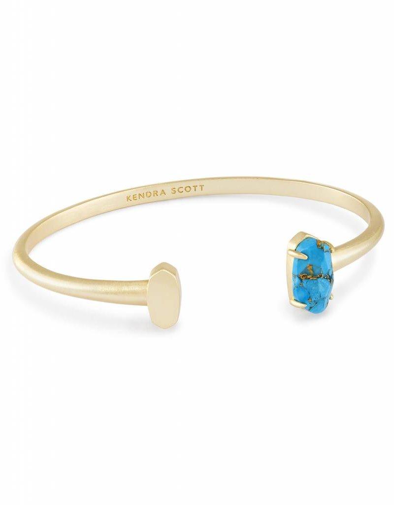 Kendra Scott Kendra Scott Vada Bracelets in Bronze Veined Turquoise